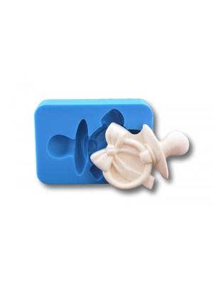 Smoczek z kokardą - formy silikonowe do masy cukrowej
