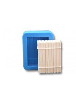 Stos belek - formy silikonowe do masy cukrowej