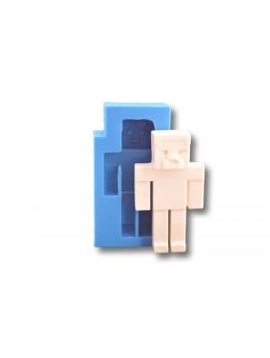 Minecraft - dekoracje cukiernicze formy silikonowe