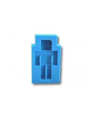 Minecraft - formy silikonowe do masy cukrowej
