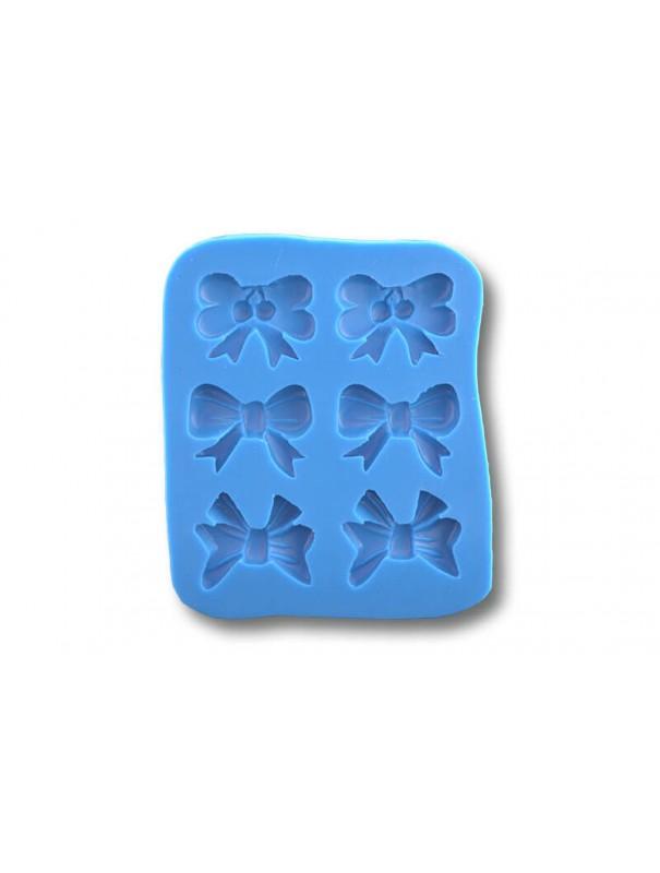 Kokardki - formy silikonowe do masy cukrowej