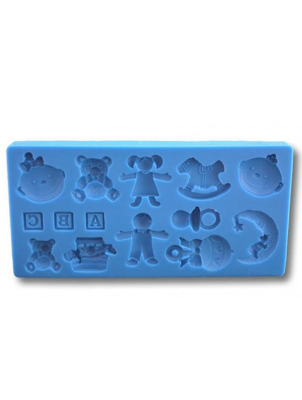 Figurki - formy silikonowe do masy cukrowej
