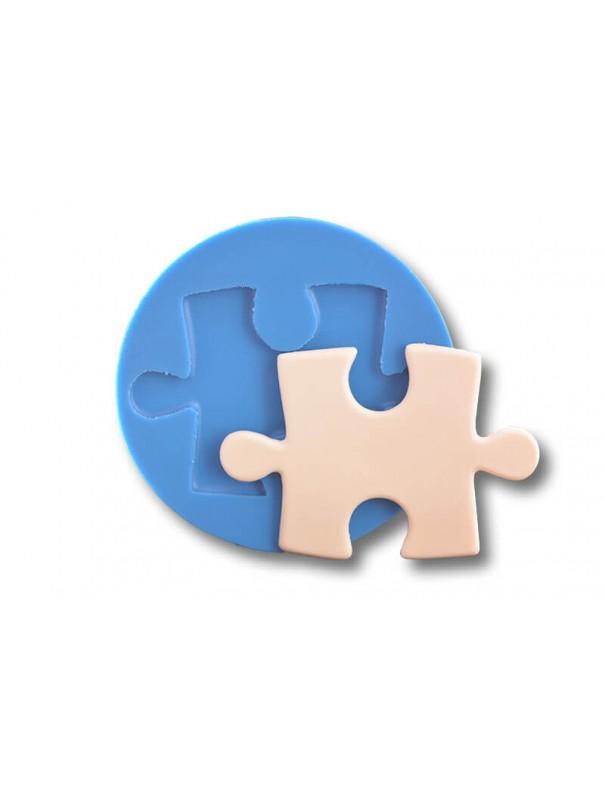 Puzzle - formy silikonowe do masy cukrowej
