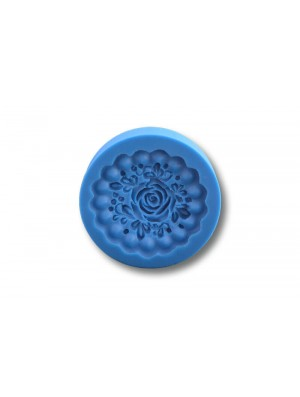Mini różyczka na babeczkę - Forma Silikonowa