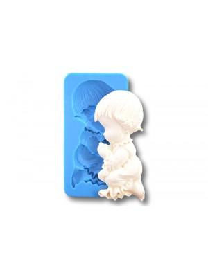 Klęczący chłopiec- Forma Silikonowa