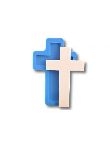 Krzyż płaski - Forma Silikonowa