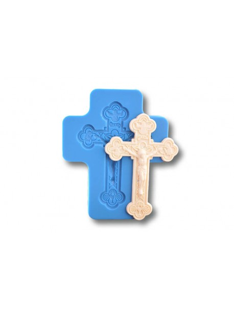 Krzyż średni 1 - Forma Silikonowa