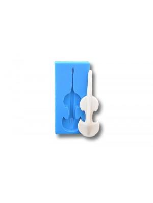 Skrzypce - Forma Silikonowa