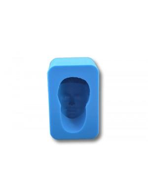 głowa męska 4 z szyją forma silikonowa