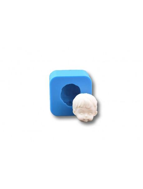 Głowa Dziecka - Forma Silikonowa