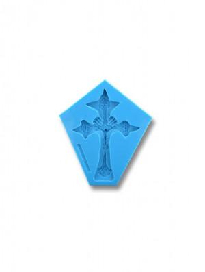 Krzyż Nowy - formy silikonowe do masy cukrowej
