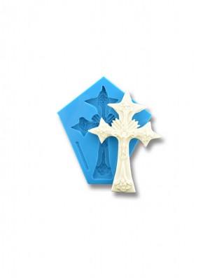 Krzyż Nowy - dekoracje cukiernicze formy silikonowe
