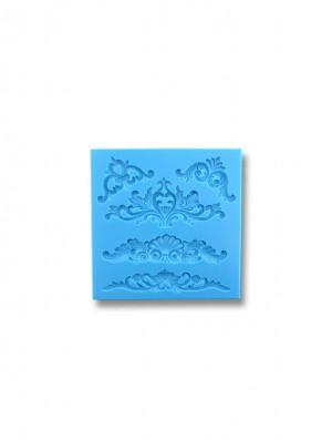 Ornamenty Królewskie - formy silikonowe do masy cukrowej