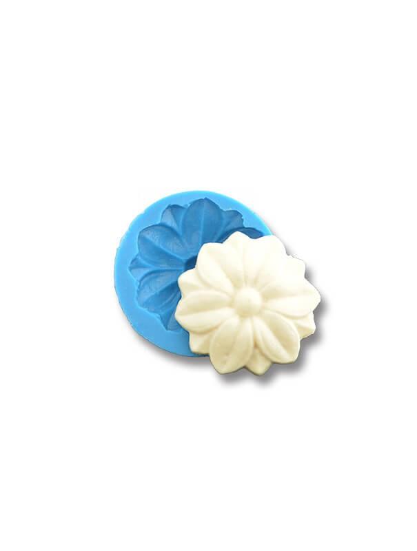 Rozetka - dekoracje cukiernicze formy silikonowe