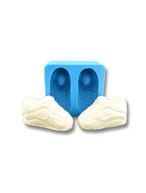 Buciki Nike - dekoracje cukiernicze formy silikonowe