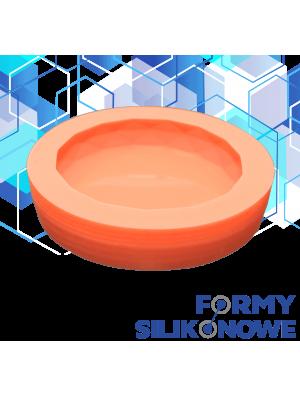 forma na mydełko okrągłe szlifowane