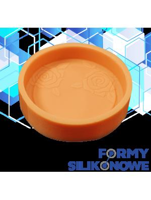 Mydło okrągłe wzór 2 Forma Silikonowa