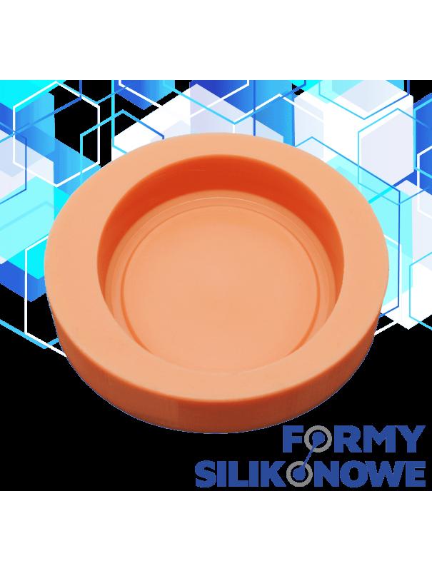 okrągłe mydło wzór 4 forma silikonowa