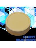 odlew z formy silikonowej mydło okrągłe wzór 4